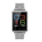 "NO.1 G7 1.54"" Bluetooth 4.0 Stainless Steel Smart Watch -Silver +Black"