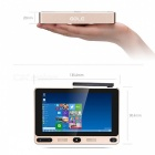 GOLE F1 Windows 10 + Android 5.1 Mini PC 4 GB RAM + 32 GB ROM - Gyllene
