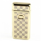 MAIKOU Single Arc USB Charging Lighter - Square Golden