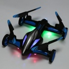 JJRC H23 2.4GHz 4CH 3D Flip Flying RC Quadcopter w/ Controller - Blue