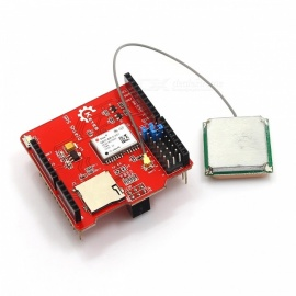 KEYES GPS Shield Module w/ SD Card Slot & Aerial for Arduino