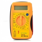 "Mini 2.5"" LCD Digital Multimeter - Yellow (1 * 6F22 Battery)"