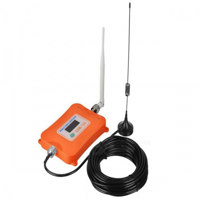 900/2100MHz GSM / WCDMA LCD Display Signal Booster for Mobile - Orange