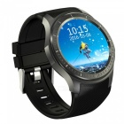 Ordro DM368 3G Full Round Screen Smart Watch w/ Heart Rate - Black