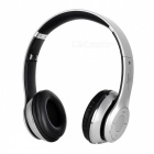 S460 Foldable Wireless Bluetooth V3.0 + EDR Bass Headphone - Silver