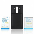 Replacement 6500mAh Battery + 3500mAh Battery + Back Case for LG G4