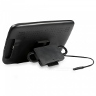 "Kelima 9"" Car HD Headrest Monitor w/ MP5, Touch Button - Black"