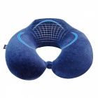 OURSPOP Travel Bliss Memory Foam Neck Pillow for Car Home Office Use