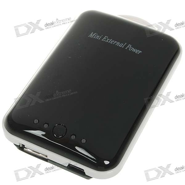Mini TX15 2100mAh Rechargeable External Battery with Cellphone Adapters