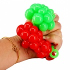 Pressure Alleviating Relieving Grape Style Balls - Red + Green (2PCS)