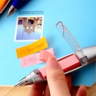 Creative Stationery, Hang Rope, Post-it Notes, Flashlight Gift Pen