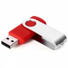 Buy MAIKOUO MK2015 8GB Creative Rotatable Metal Silicone USB Drive - Red