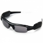 Jtron Outdoor Sports Sunglasses w/ Recording - Black (US Plug)
