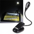 MLSLED 2-LED Flexible Single Arm Mini Clip USB Table Book Light