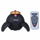 Intelligent Electronic Panorama Tripod Head w/ Remote Control - Black