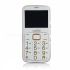 "XIAOCAI A600 2.31"" GPS GSM Mobile Phone w/ 64MB + 64MB - White"