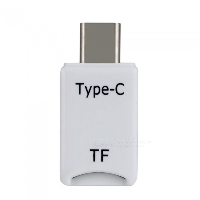 Kitbon USB3.1 Type-C to TF Smart Card Reader for - White