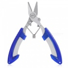 Outdoor Multifunction Fishing Line Cutter - Royal Blue + Silver