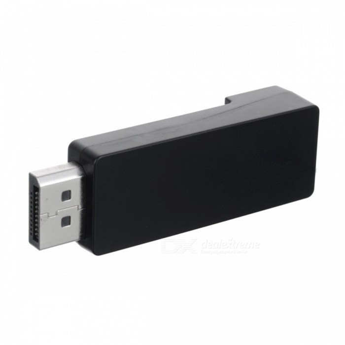 BSTUO Display Port Male to HDMI Female 4K Utra HD Converter - BlackLaptop/Tablet Cable&amp;Adapters<br>Form  ColorBlackQuantity1 DX.PCM.Model.AttributeModel.UnitShade Of ColorBlackMaterialABSInterfaceOthers,Displayport/HDMITypeLaptopsTransmission Rate10 DX.PCM.Model.AttributeModel.UnitPacking List1 * 4K DP to HDMI adapter<br>