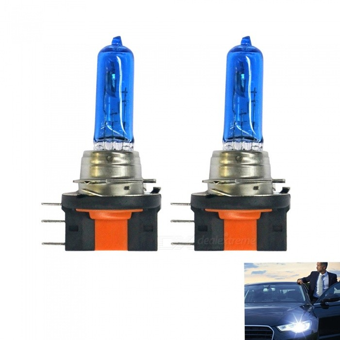 H15 12V 15/55W 5500K Neutral White Light Automotive HeadlampsHalogen Bulbs<br>Color Temperature5500KModelH15Quantity2 DX.PCM.Model.AttributeModel.UnitMaterialHalogen headlights + stainless steel lampForm ColorBlue + Silver + Multi-ColoredCompatible Car ModelSuitable for all 12V vehicles with H15 interface.Rate Voltage12VPowerOthers,15/55WColor BINWhiteTheoretical Lumens2500 DX.PCM.Model.AttributeModel.UnitActual Lumens2400~2500 DX.PCM.Model.AttributeModel.UnitConnector TypeOthers,H15Packing List2 * Car headlights<br>