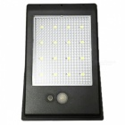 Ismartdigi L16LED Solar Sensitive Motion Sensor Wall Light - Black