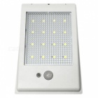 Ismartdigi L16LED-WH Solar Sensitive Motion Sensor Wall Light - White
