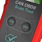 VIECAR CY300 LCD Display OBDII Diagnostic Interface Scan Tool - Red