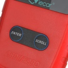 Viecar VC309 LCD Display CAN OBDII Diagnostic Code Reader - Red