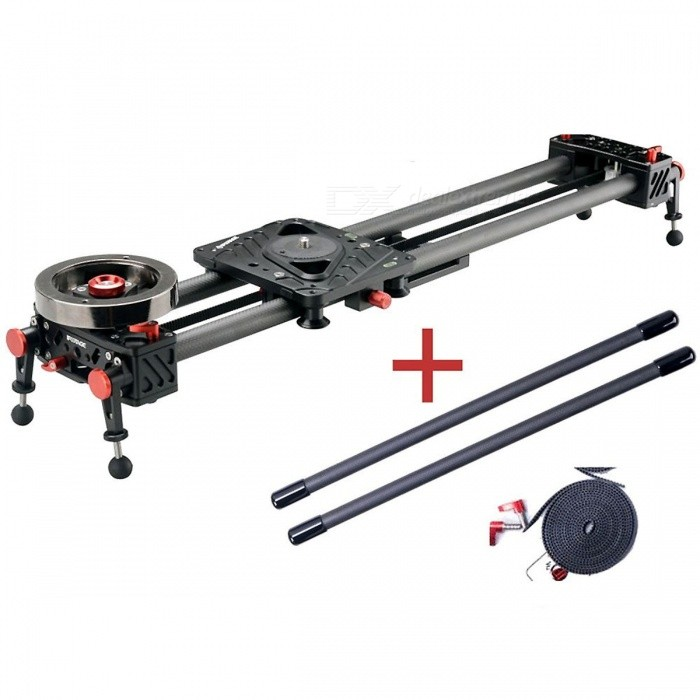 IFOOTAGE S1 Carbon Fiber Shark Video Slider Rail Set for DSLR (1350mm)