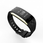 S2 Bluetooth Heart Rate Wristband for Android IOS Phone - Black