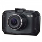 "D90 3,0""LCD 720P 5MP 1 / 2.7"" CMOS Full HD auto DVR-tallennin - musta"