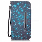 BLCR 3D Constellation Pattern Leather Wallet Case for IPHONE 6 / 6S