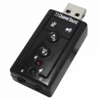 USB 2.0 Virtual 7.1 Channel Sound Card Adapter