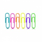 0053 29mm Colored Metal Paper Clips (200 PCS / Box)