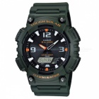 Casio AQ-S810W-3AVDF Tough Solar Watch - Green/Black (Without Box)