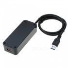 High Speed USB 3.0 4 Ports Hub Expansion Splitter for PC MAC Laptop