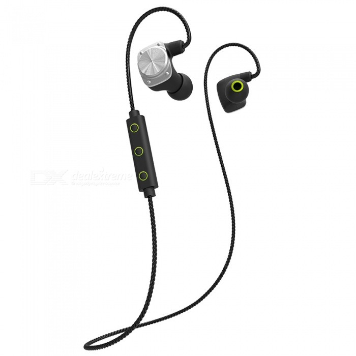 Easter U6 Wireless Bluetooth Magnetic Sport In-Ear Earphone - BlackHeadphones<br>Form  ColorBlackBrandOthers,EastorModelU6MaterialPlasticQuantity1 DX.PCM.Model.AttributeModel.UnitConnectionBluetoothBluetooth VersionBluetooth V4.2Operating Range10mHeadphone StyleBilateral,In-Ear,Ear-hookWaterproof LevelIPX6Applicable ProductsUniversalHeadphone FeaturesHiFi,Phone Control,Long Time Standby,Magnetic Adsorption,Noise-Canceling,Volume Control,With Microphone,Lightweight,Portable,For Sports &amp; ExerciseSupport Memory CardNoSupport Apt-XNoSensitivity94+-3dBFrequency Response20~20KHzImpedance16 DX.PCM.Model.AttributeModel.UnitDriver Unit8mm moving coilBattery TypeLi-polymer batteryBuilt-in Battery Capacity 120 DX.PCM.Model.AttributeModel.UnitMusic Play Time6-9 DX.PCM.Model.AttributeModel.UnitPower AdapterUSBPacking List1 x Earphone<br>