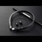 Bluetooth V4.1 Stereo Retractable APTX Sports Headphone - Black