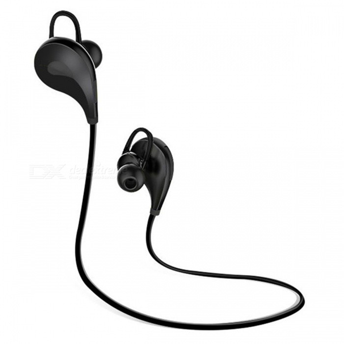 Bluetooth V4.1 Wireless Sports In-Ear Music Stereo Headset - Black