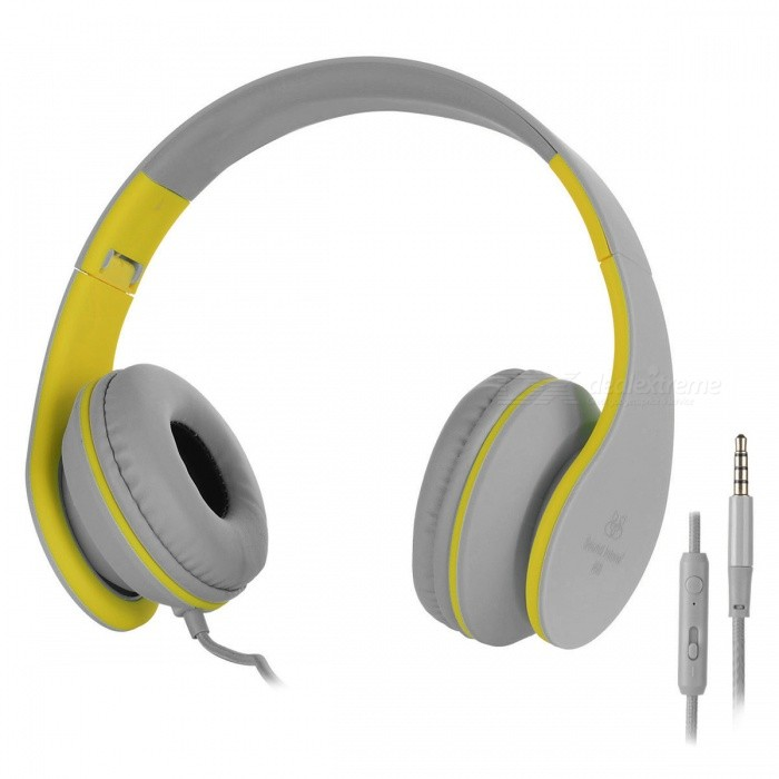 Sound intone I68 3,5 mm kabelgebundene On-Ear-Kopfhörer w / mic ...