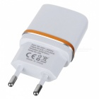 Jtron DC 5.3V 2.0A USB Power Adapter / Charger (EU Plug) - White