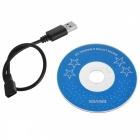 Waterproof 6-LED 5mm Lens Android USB Endoscope Borescope (10m)