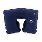NatureHike Inflatable U-Shaped Neck Pillow for Travel - Deep Blue