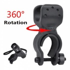 ROBESBON 360 Degree Rotation Bicycle Mount Holder for Flashlight Torch