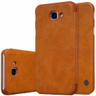 NILLKIN Protective PU + PC Case for Samsung Galaxy A8 - Brown