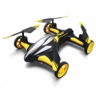 JJRC H23 2.4G 4CH 3D Flip Dual Mode RC Flying Quadcopter - Yellow