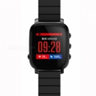 SMAWATCH SMA Q2 Bluetooth 4.0 Smart Watch w/ Heart Rate - Black