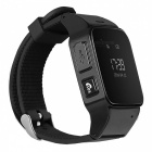 DMDG GPS Locator Smart Watch Phone / GPS Tracker / SOS Alarm - Black
