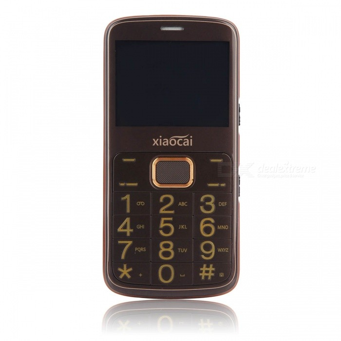XIAOCAI A600 2.31 GPS GSM Mobile Phone w/ 64MB + 64MB - BrownFeature Phones<br>Form  ColorBrownModelA600MaterialABSQuantity1 DX.PCM.Model.AttributeModel.UnitShade Of ColorBrownNetworkingGSMFrequencyGSM 850/900/1800/1900MHzData TransferGPRSSIM TypeOthers,1*Standard SIM,1*Micro SIMSIM Slot2Network StandbySingle StandbyNetwork ConversationOne-Party Conversation OnlyGPSYesWi-FiNoTypeBrand NewOperating SystemN/ACPU ProcessorMTK6261ACPU Core QuantitySingle CoreLanguageEnglish, French, Portuguese, PolishItaliano,Deutsch,Czech,Dutch , Russian,ArabicHebrew, Greek,RomanianTime of Release2016-12-15RAM64MBROM64MBAvailable Memory20MBMemory CardSupports 8GB TF cardScreen Size2.31 DX.PCM.Model.AttributeModel.UnitTouch Screen TypeNoScreen Resolution240 * 320Main Camera Lens Features0.3MPFlashNoTouch FocusNoBattery Capacity1350 DX.PCM.Model.AttributeModel.UnitBattery TypeLi-ion batteryTalk Time10 DX.PCM.Model.AttributeModel.UnitStandby Time300 DX.PCM.Model.AttributeModel.UnitWorking Time12 DX.PCM.Model.AttributeModel.UnitBluetooth VersionBluetooth V2.0TVNoRadio TunerYesSensorNoI/O InterfaceMicro USB,3.5mmFormat SupportedMP3, MP4Packing List1 x Phone1 x 1350mAh battery1 x  Adapter1 x Data cable1 x User manual<br>