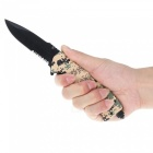 Outdoor Multi-function Folding Knife - Camouflage